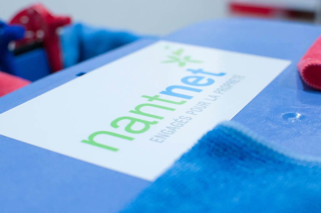 Logo de l'entreprise de nettoyage industriel Nantnet